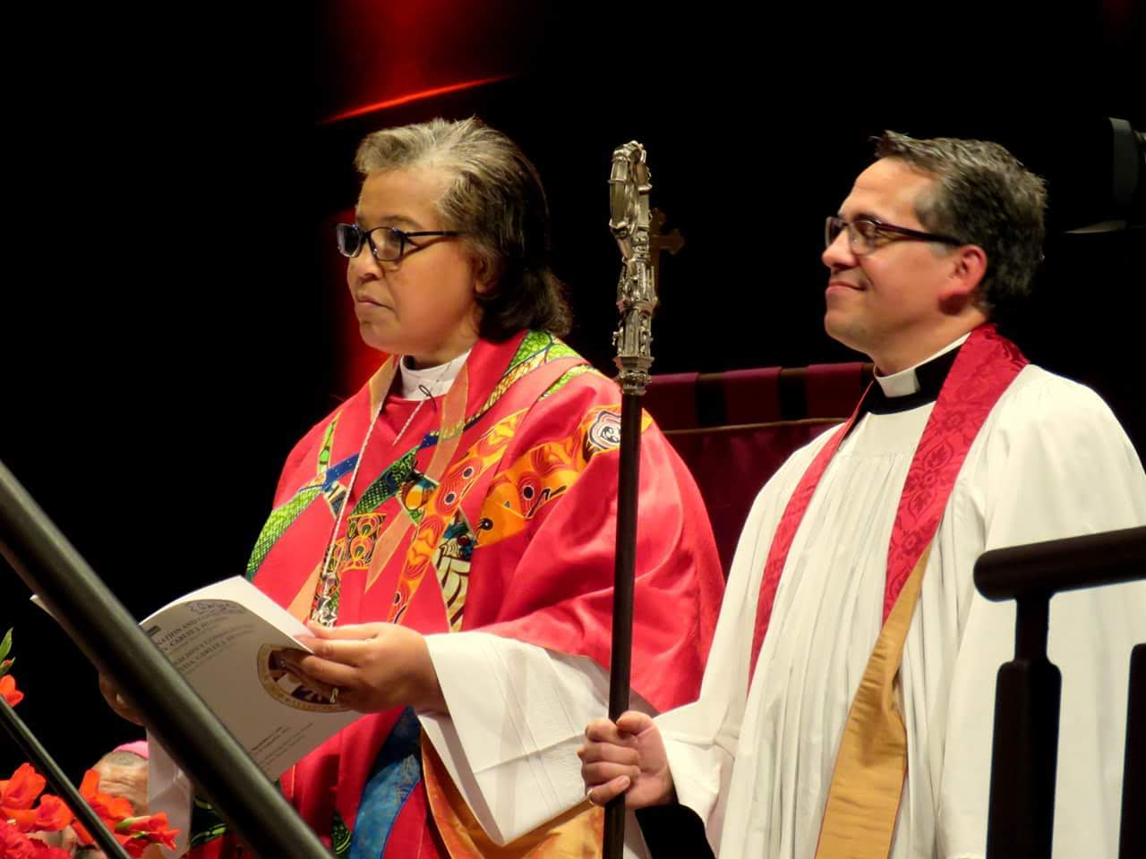 Bishop Carlye and Father Jerry