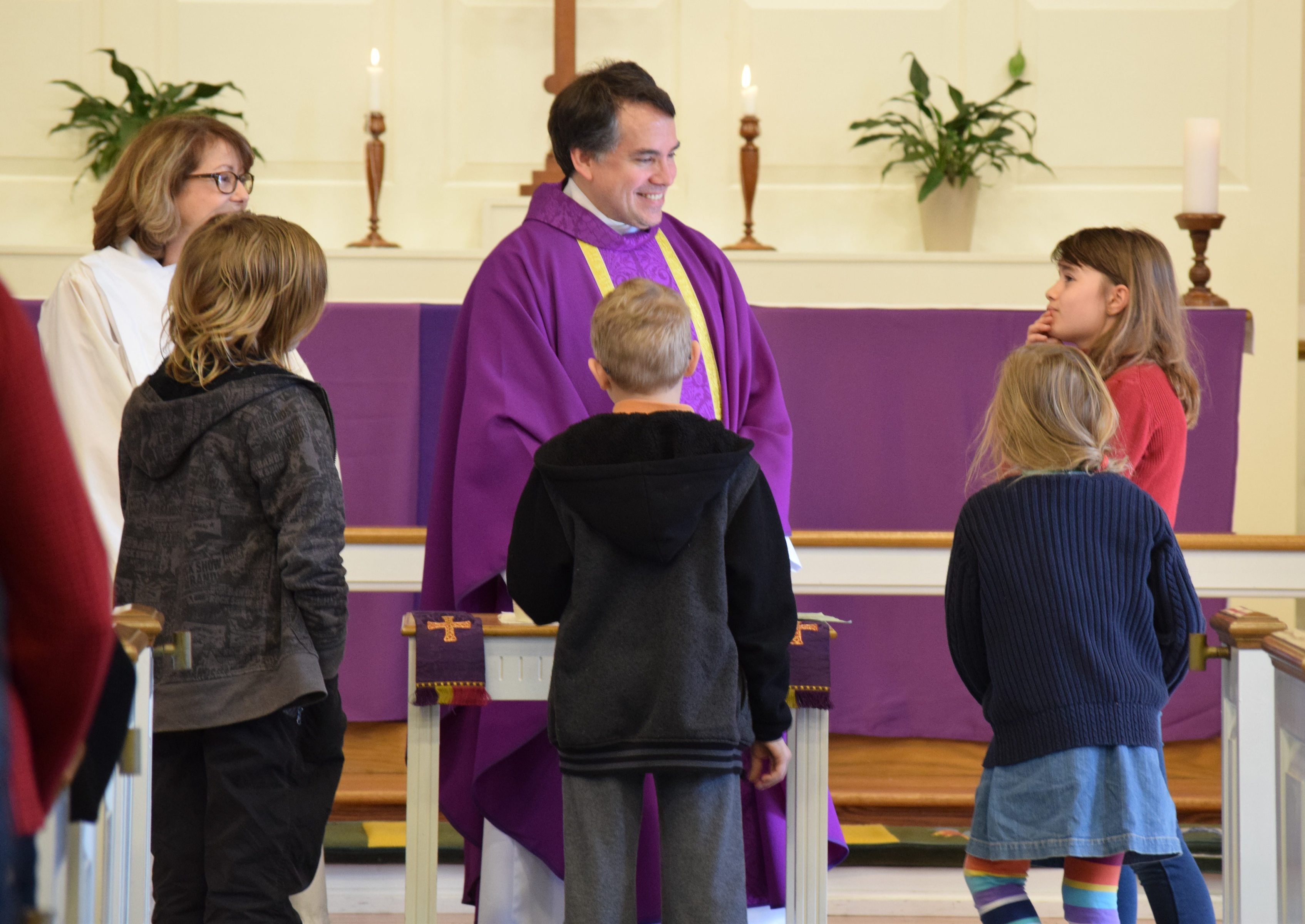 Children's Eucharist Purple