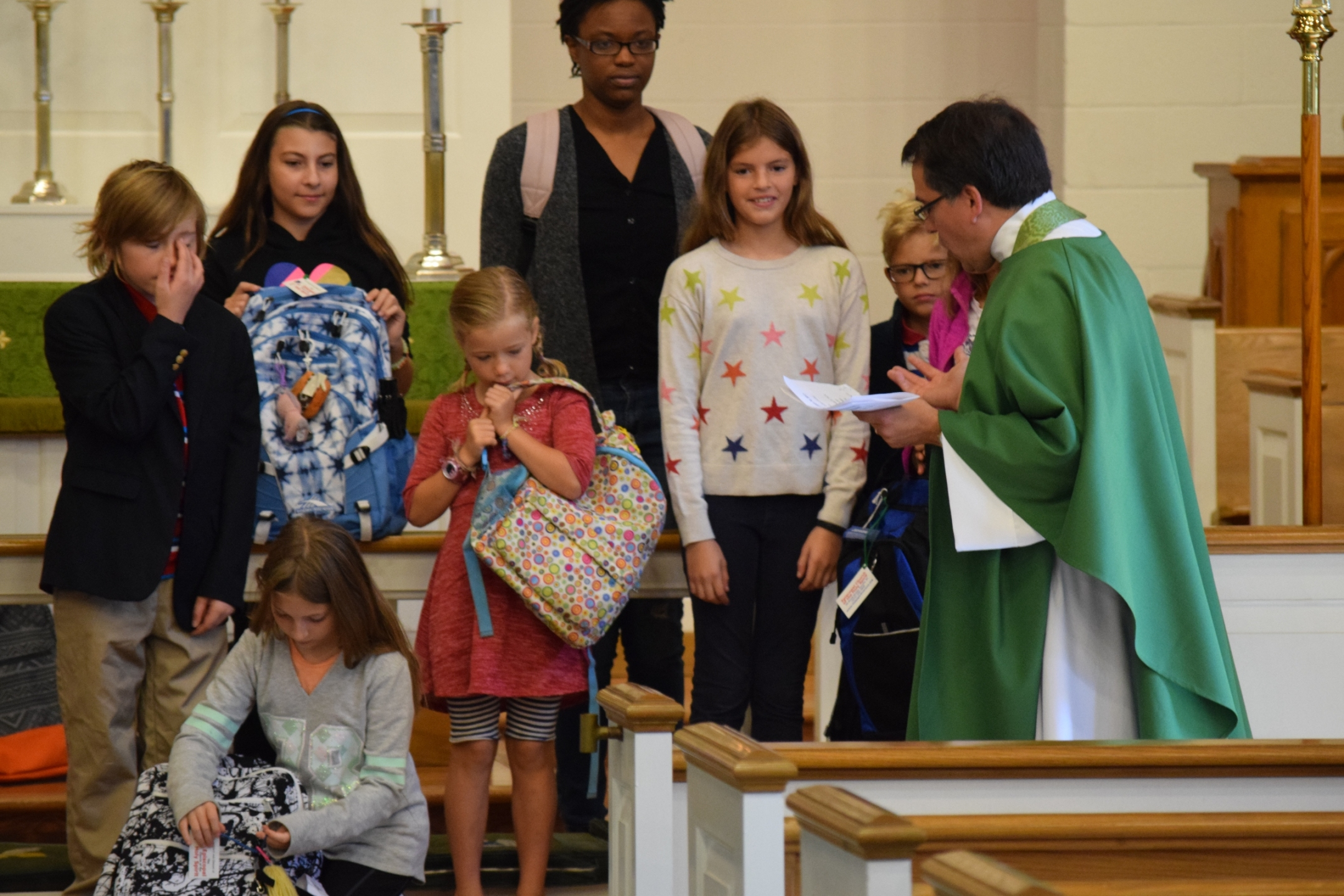 Blessing of the Backpacks 2017