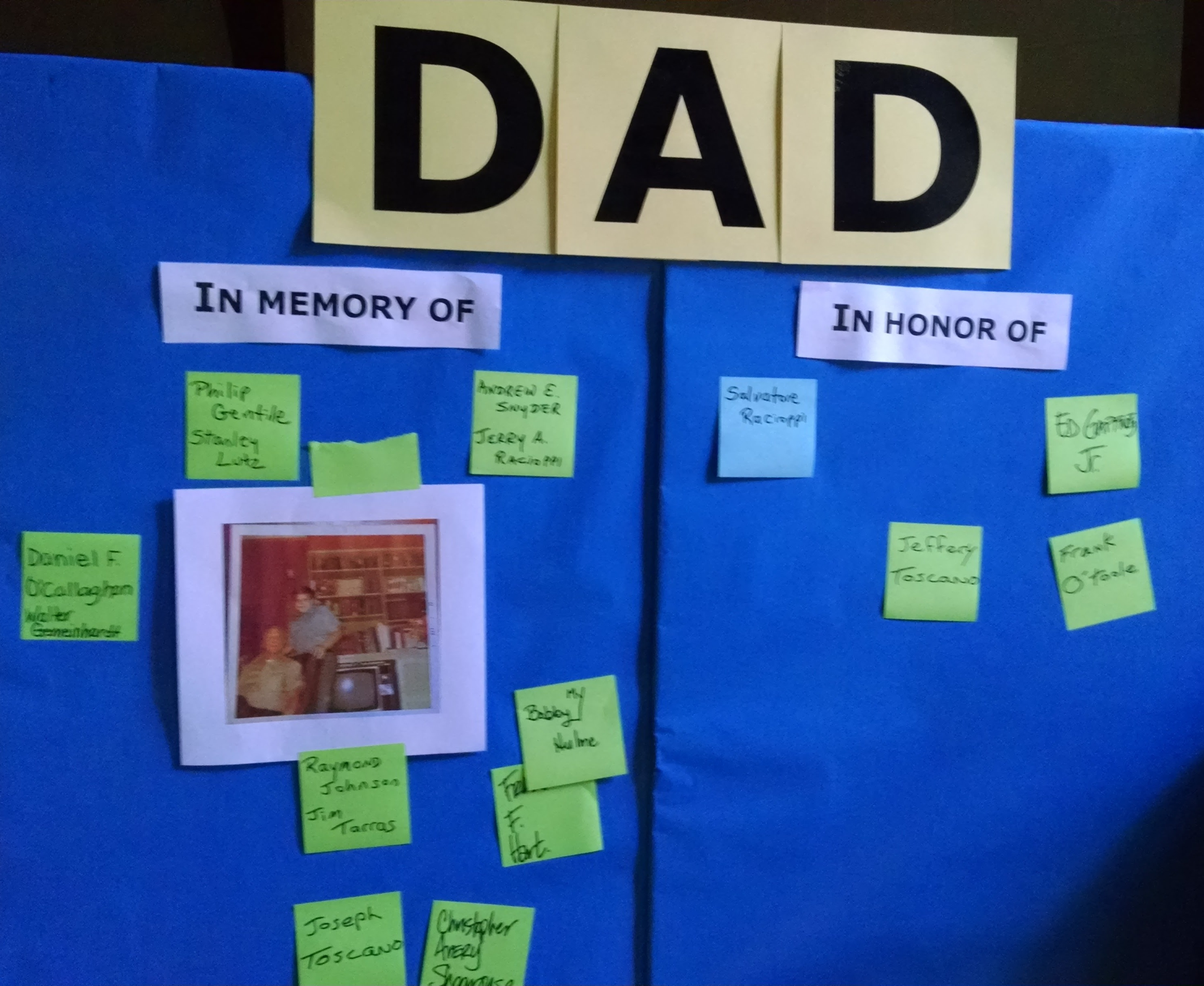 Celebrating Our Dads