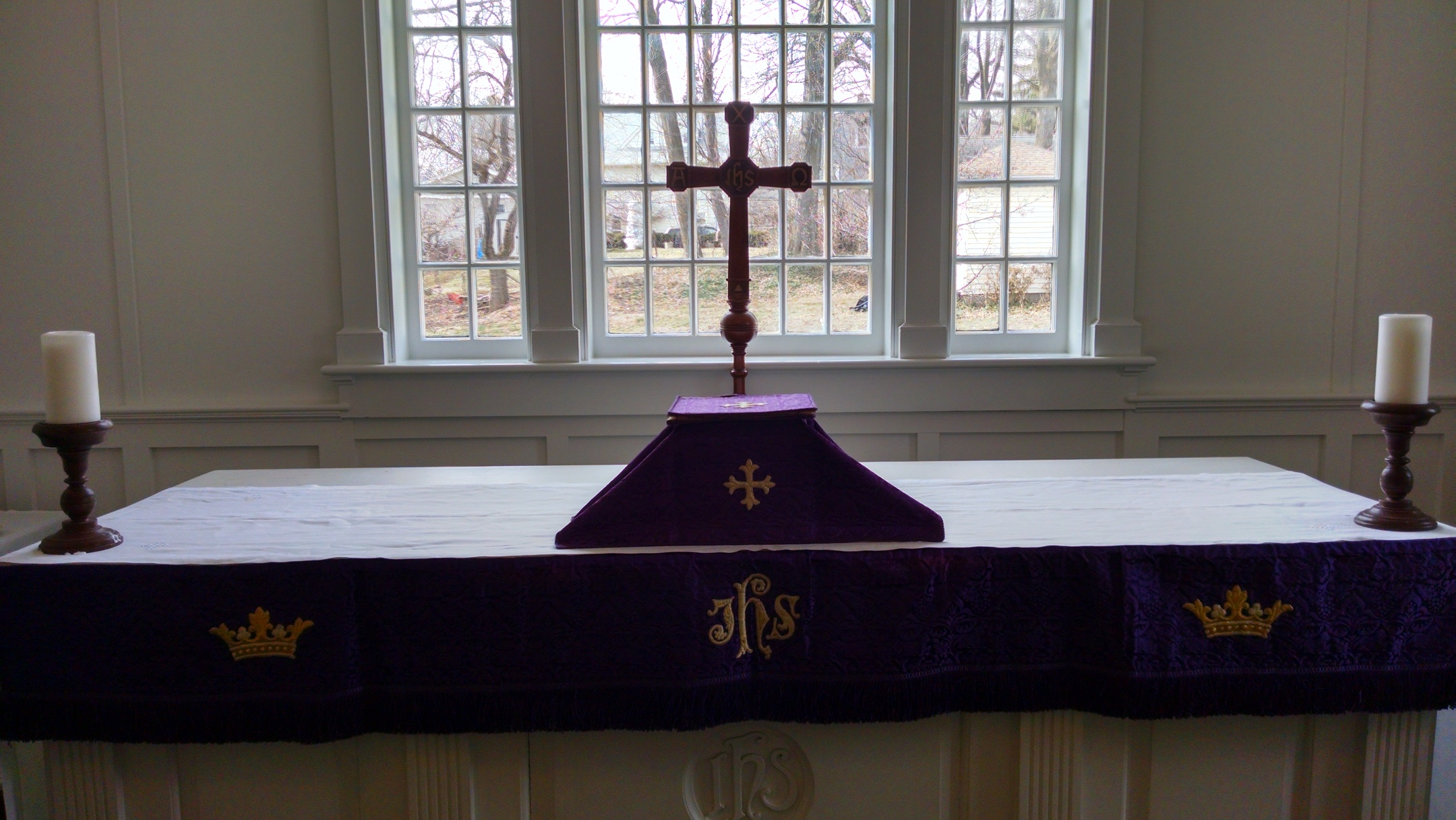 Chapel Altar - Purple