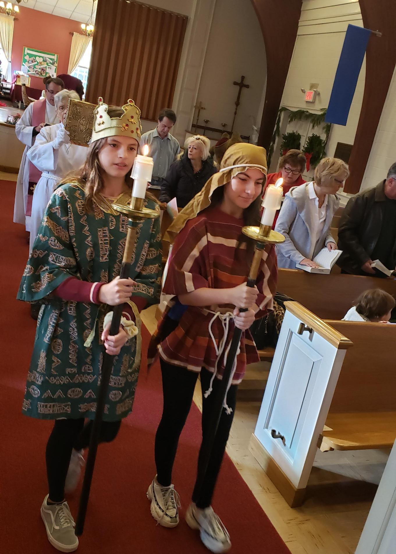 Older Students as Acolytes