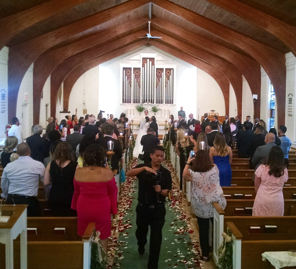 Wedding at Holy Spirit Verona