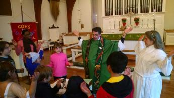 Children's Eucharist Green