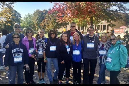 Out of the Darkness - Suicide Prevention Walk MSU 2016